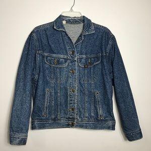 Jackets & Blazers - Vintage Lee Rideers demin jean jacket oversized